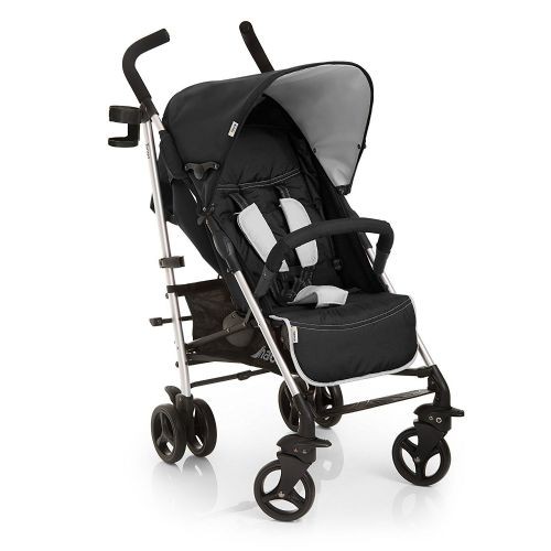 New Hauck tango pushchair buggy pram stroller+RAINCOVER in T-night BLACK